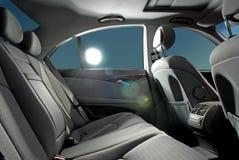 Car salon. Business car salon with sun on window Stock Images