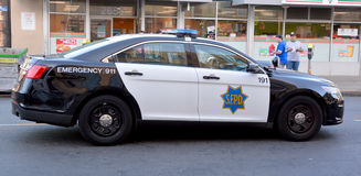 Car of San Francisco Police Department. SAN FRANCISCO CA USA 04 14 2015; Car of San Francisco Police Department (SFPD), also known as the San Francisco Stock Image
