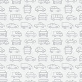 Car Seamless Pattern Royalty Free Stock Photography