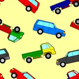 Car seamless wallpaper Royalty Free Stock Images