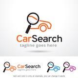 Car Search Logo Template Design Vector Royalty Free Stock Photo