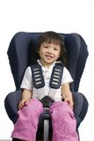 Car Seat 001 Royalty Free Stock Photography