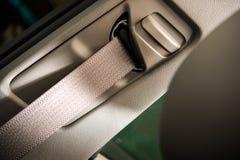 Car Seat Belt Closeup Royalty Free Stock Photo