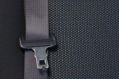 Car seat belt, safety concept. Automotive background stock photo