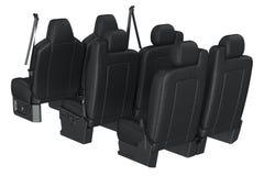 Car seat black Stock Photos