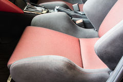 Car seat Royalty Free Stock Photography