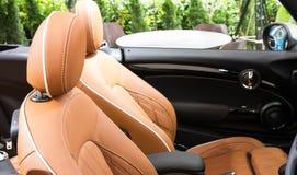 Car seat Stock Image