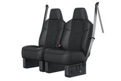 Car seat comfortable Stock Image