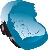 Car seat illustration Stock Image