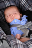 Car Seat Sleep Stock Photos