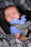Car Seat Sleep stock photos