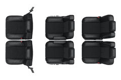 Car seat, top view Stock Photography