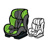 Car Seat Royalty Free Stock Photo