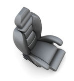 Car seat  on white background. 3d render image Stock Image