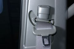 Car seatbelt Stock Photo