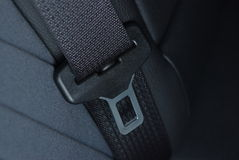 Car seatbelt buckle Stock Photos