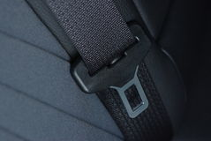 Car seatbelt buckle Royalty Free Stock Photography