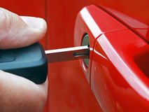 Car security Royalty Free Stock Photography