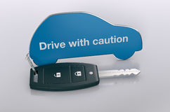 Car and security concept Royalty Free Stock Image
