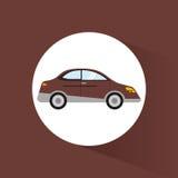 car sedan transport vehicle image stock illustration
