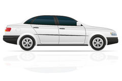 Car sedan vector illustration Royalty Free Stock Photos