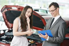 Car selling or auto buying Stock Photo