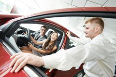 Car selling or auto buying Royalty Free Stock Photos