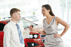 Car selling or auto buying Royalty Free Stock Photo