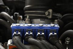 Car sequential gas injection Royalty Free Stock Photography
