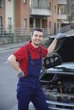 Car service Stock Image
