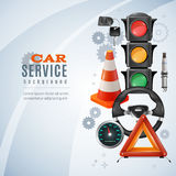 Car Service Background Stock Image