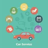 Car Service Concept Stock Images
