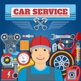 Car Service Concept Royalty Free Stock Photography