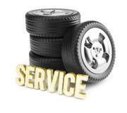 Car service concept Stock Image