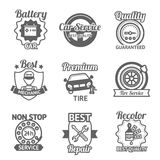 Car Service Emblems Royalty Free Stock Photo