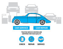 Car service,Flat designed banners for ui-ux design andweb design Stock Photo