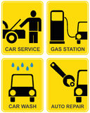 Car service, fuel station, auto Stock Photo