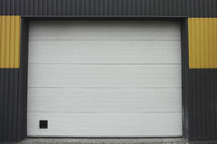 Car service garage door Royalty Free Stock Image