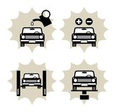 Car service icon Royalty Free Stock Photos