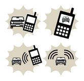 Car service icon Stock Images