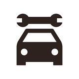 Car service icon Stock Photography