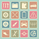 Car service icon Royalty Free Stock Image