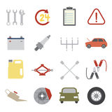 Car service icon Stock Photo