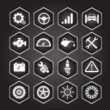 Car service icon Set , EPS10 Stock Photo