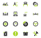 Car service icon set. Car service web icons for user interface design Royalty Free Stock Photography