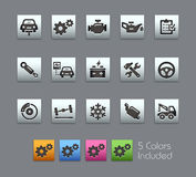 Car Service Icons  Royalty Free Stock Images
