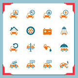 Car service icons | In a frame series stock photos