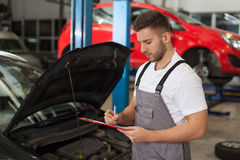 Car service inventory Stock Photography