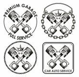 Car service logo Stock Photos