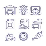 Car service  maintenance icon, Auto repair vector Stock Images